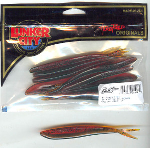 Fin-S Fish 4 inch Color (MotorOil)