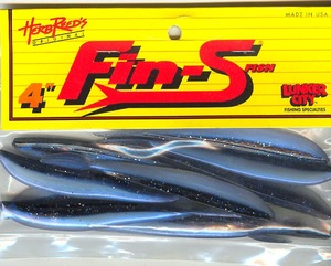 Fin-S Fish 4 inch Color (Midnite shiner)