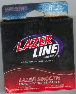 Eagle Claw Lazor Line( 6lb Clear 400 Yds )