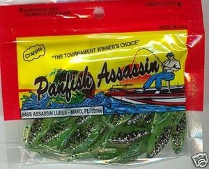 "PanFish Assassin ""Tiny Shad"" ...Spring minnow"