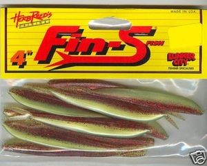 Fin-S Fish 4 inch Color (Bloody mary)