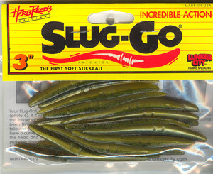Slug-Go 3 inch 20 pack (Green shiner)