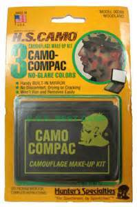 Hunter's Specialties Three-Color Camo-Compac Makeup Kit