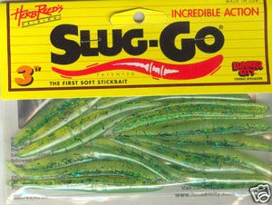 Slug-Go 3 inch 20 pack (pickle shad)